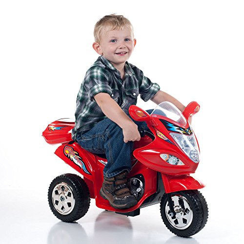 Battery Powered Riding Toys For Boys : Ride on toy wheel trike motorcycle for kids battery