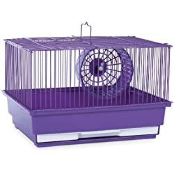 Prevue Hendryx SP2000PR Single Story Hamster and Gerbil Cage, Purple