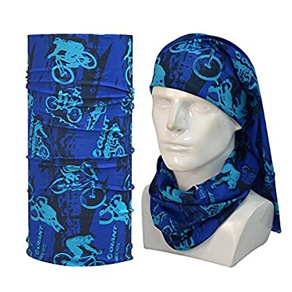 Amazon.com   1pcs Lot Men Motorcycle Scarf Neck Bandana Echarpe Tube Scarf  Bandana Headband Ciclismo Esporte Running Bandanas Men Scarf Hat    Everything ... 25f824a00ef