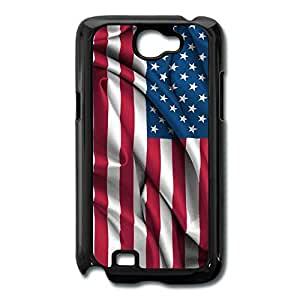 American Flag Generic Case Cover For Galaxy Note 2