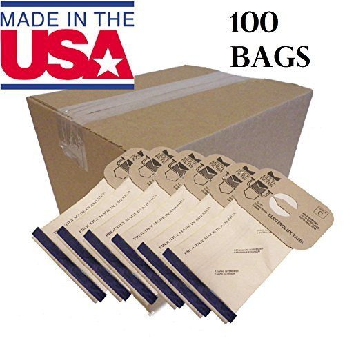 100 Aerus Electrolux Canister Style C Vacuum Cleaner Bags, Made In USA. …