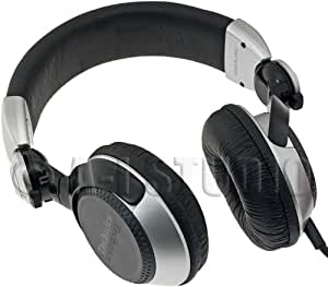 Panasonic Technics RP-DJ1200A Foldable DJ Headphones with Swing Arm System and Coil Cord (Discontinued by Manufacturer)