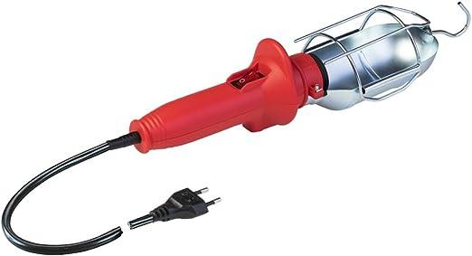 chantier avec interrupteur et c/âble 10/m/ètres atelier cave Poly Pool pp0050/portable lampe de travail pour utilisation en Garage