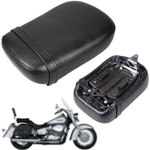 Iglobalbuy Black Rear Pillion Passenger Seat For 1998-2003 HONDA Shadow ACE VT750 VT750C VT750CD (Seat Honda Shadow)