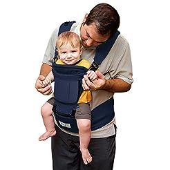 BABY STEPS Baby Carrier Hip Seat Ergonom...