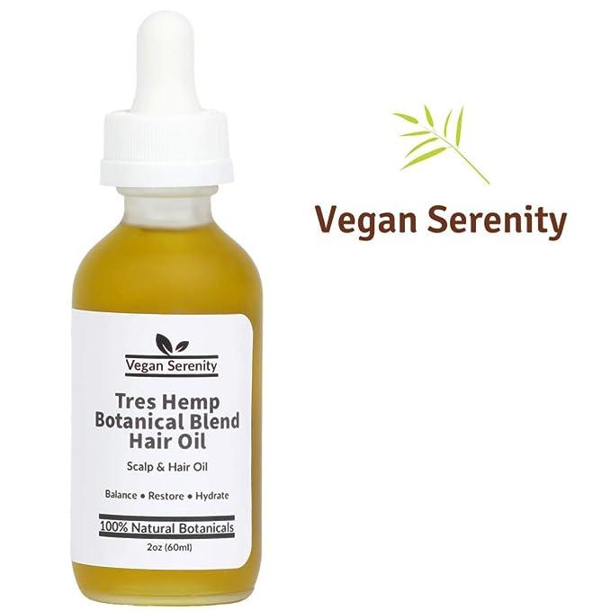 Vegan Serenity Natural Hair Growth Oil
