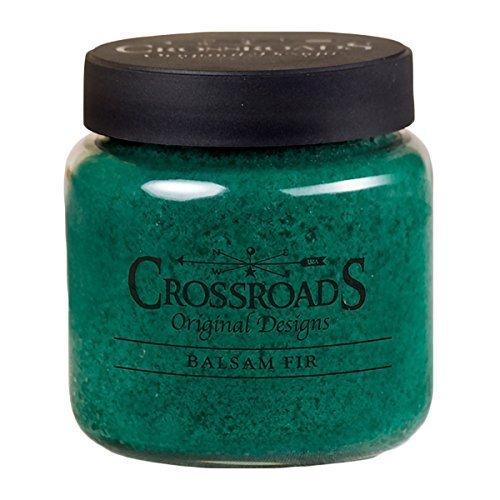 Coffee 16 Oz Jar Candle - Crossroads Candle 16 Ounce Jar Candle - Balsam Fir
