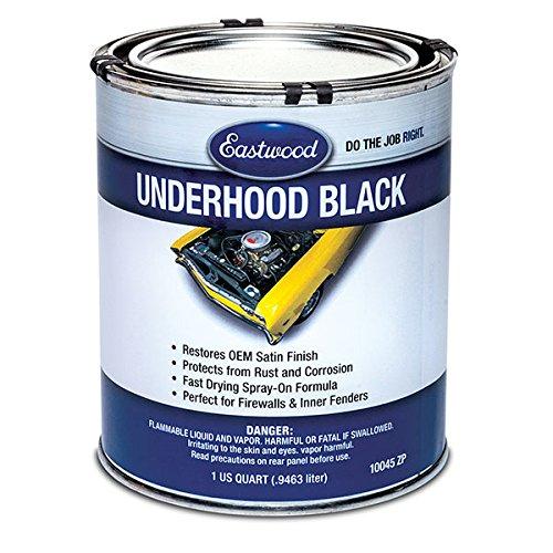 Eastwood Acrylic Anti Rust Corrosion Underhood Black Paint - Hood Paint
