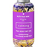 Cheap Full Body Oil Moisturizing Oil For Normal to Dry Skin Face Hair Cuticle Scalp Nails. Lavender Essential Oil, Coconut, Argan, Jojoba & Sweet Almond Oil Blend. Quick Dry Oil for Women Men Kids Baby 4oz