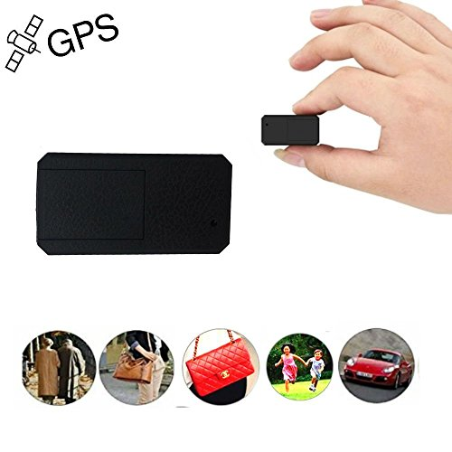 Mini Gps Tracker TKSTAR Anti-theft Real Time Tracking on Free App Anti-lost Gps Locator Tracking Device for Purse Bag Wallet Bags Kids Satchels Important Documents Luggage Compatible Android IOS TK901 by TKSTAR