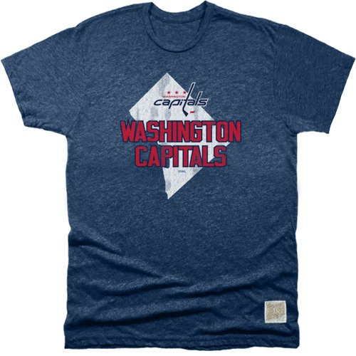 NHL Washington Capitals Men's Mock Twist Tee, XX-Large, Navy