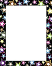 Teacher Created Resources 5262 Fancy Stars Computer Paper