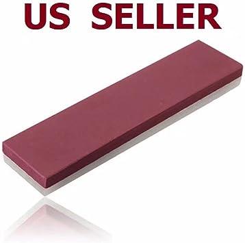 10000# /& 3000# 2-Sides Grit Razor Sharpener Stone Oilstone Whetstone PolishingUV