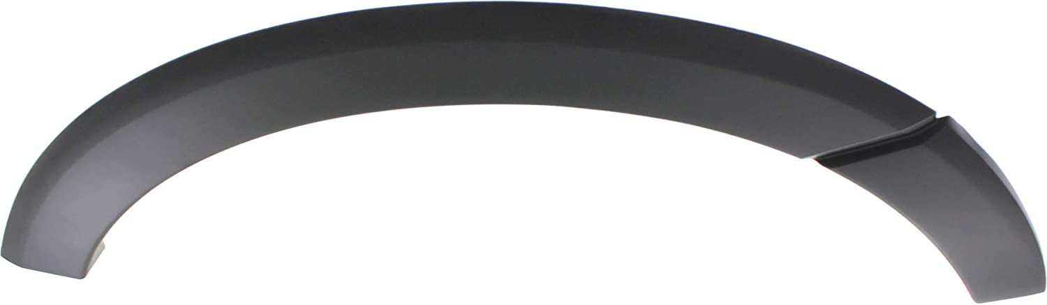 Rear Fender Flares Compatible with FORD EXPEDITION 2007-2017 RH Primed Plastic