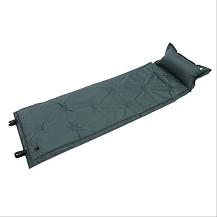 STORAGE BAG picnic beach SELF INFLATING SINGLE FOLDING CAMPING MAT with PILLOW