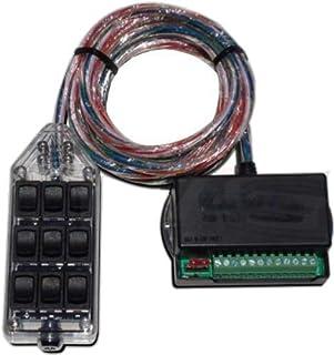 Amazon com black 9 rocker switch controller box for air ride fbss on how to wire avs switch box Lock Switch Rocker Switch Box