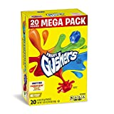 #8: Betty Crocker Fruit Snacks, Gushers, Mega Pack, Variety Snack Pack, 20 Pouches, 0.9 oz Each