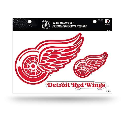 NHL Detroit Red Wings Die Cut Team Magnet Set Sheet