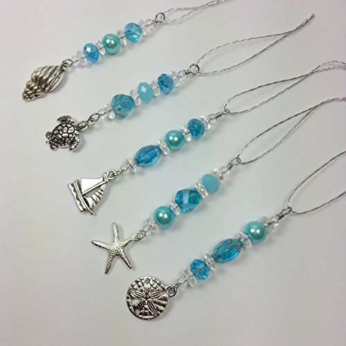 Aqua Christmas Ornaments: Amazon.com