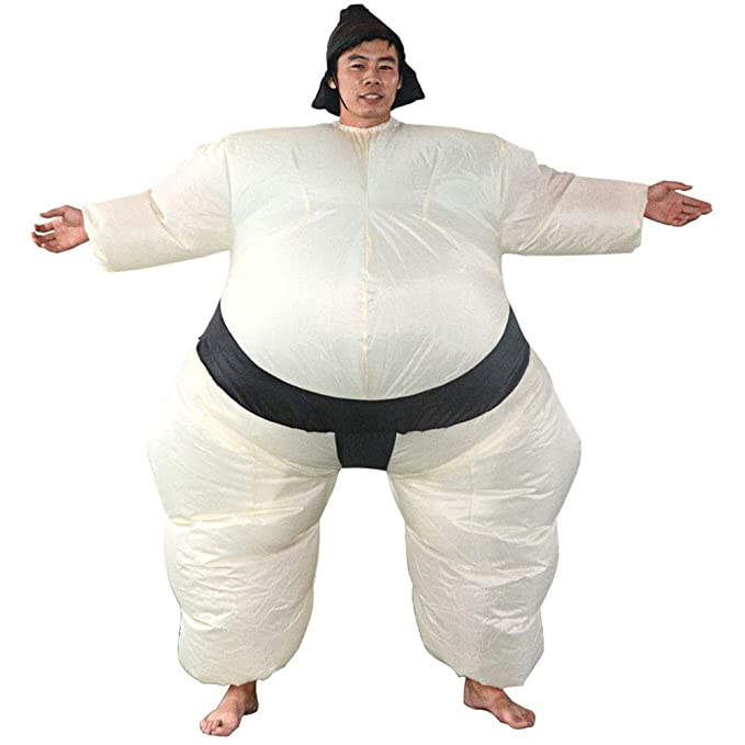 Sumo Hinchable Traje De Halloween Inflable Vestido De ...