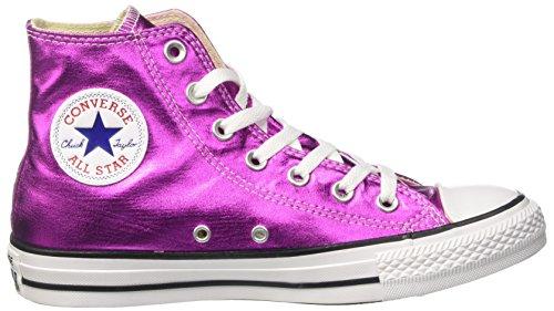 Hi Converse Donna Alto Collo Glow a Rosa Magenta Black Sneaker Ctas White 5TrqTA