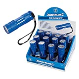 Silverline 319886 6-led Metal Torch 3 x Aaa Batteries Display Box Of 12
