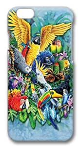 Birds of the Tropics 2 Custom ipod touch4 inch Case Cover Polycarbonate 3D
