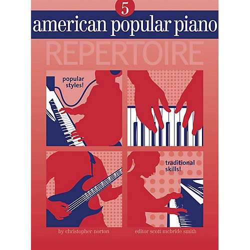 Novus Via Music - American Popular Piano - Repertoire Novus Via Music Group Series Softcover with CD by Christopher Norton Pack of 2