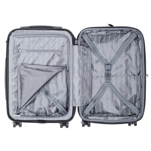 DELSEY Paris Small Carry-On, Titanium Silver
