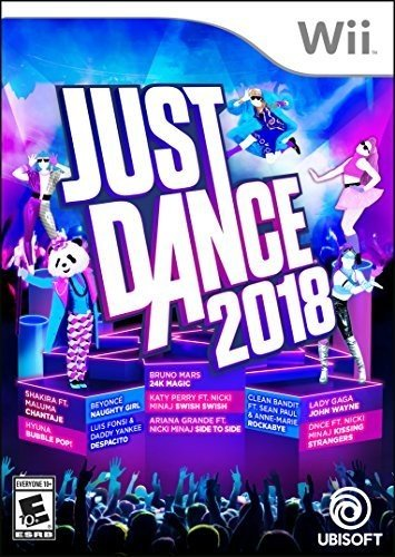 Top just dance 2018 wii used