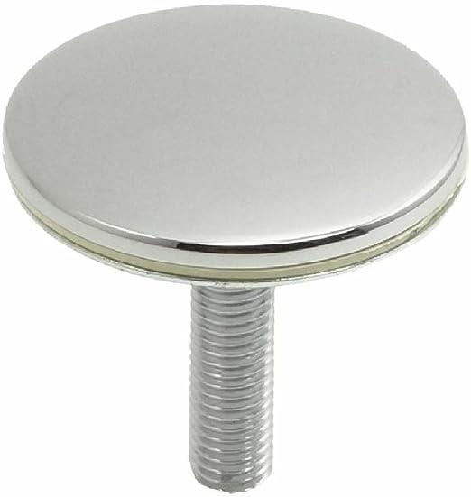 Tap/ón ciego para fregadero de cocina de lat/ón 50 mm 2 piezas rebosadero agujero lavabo