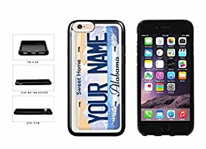 chen-shop design Personalized Custom Illinois License Plate Plastic Phone Case Back Cover iPhone 6 Plus (5.5 inches) high quality