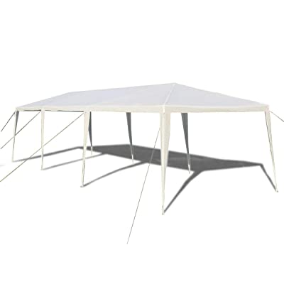 AyaMastro Outdoor 10x30 Inches Canopy Tent Portable Camping Event Party Shelter Sun Shade, White with Ebook : Garden & Outdoor