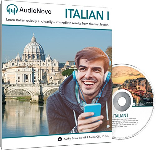 AudioNovo Italian - Learn Italian quickly and easily | Tangible success even after the first lesson (Audio program, Italian for beginners)