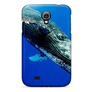 For Galaxy Case, High Quality The Humpback Whale For Galaxy S4 Cover Cases