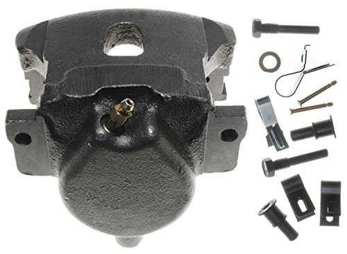 ACDelco 18FR640 Professional Front Driver Side Disc Brake Caliper Assembly without Pads (Friction Ready Non-Coated), Remanufactured
