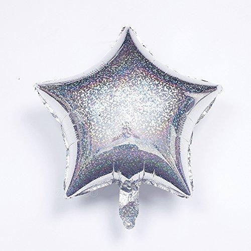 (Laser Star Balloons Star Shape Foil Mylar Balloons (Sviler))