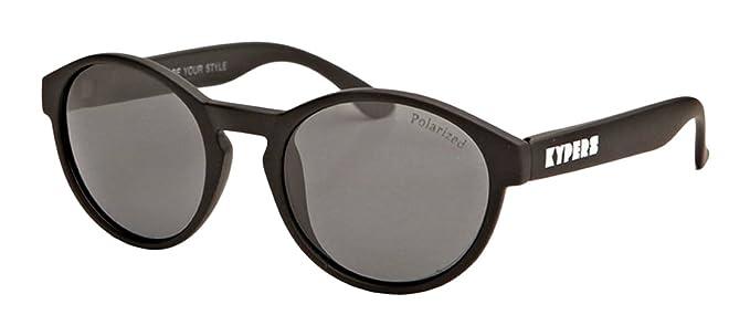 KYPERS Mojito-MJ013, Gafas de Sol Hombre^Mujer, Rubber Black Grey no