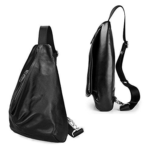 ivotre Cross-Body-Tasche Brandneu alle Match Modische Schulter-Sling Bag, stylischen Aussehen Pack für Herren, Jugendliche, Jungen, Reisen, Wandern