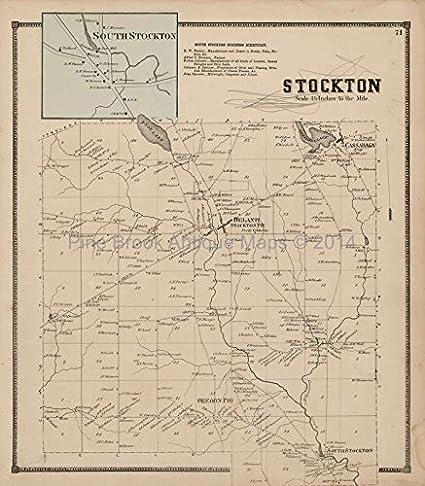 Chautauqua County Ny Map on