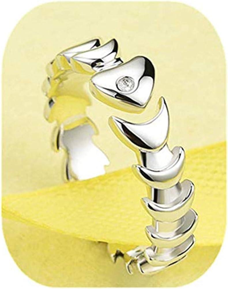 Anillo de hueso de pez kakupao hecho a mano, anillo de gato, joyería de gato, anillo ajustable, anillo de plata