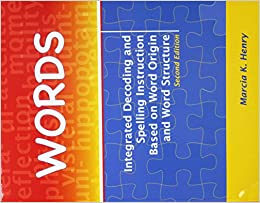 words integrated decoding and spelling instruction based on word
