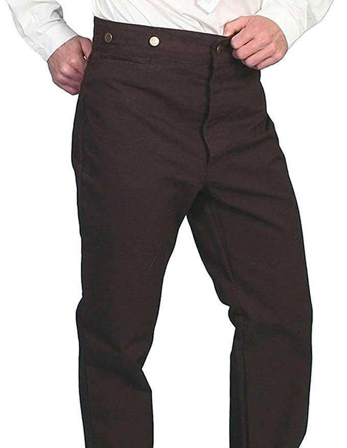 e4c77625 Scully Western Pants Mens Old West Durable Canvas Rugged RW040: Amazon.ca:  Clothing & Accessories