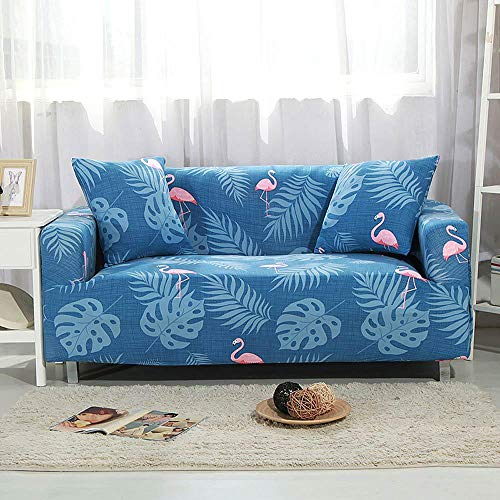 Flamingo Printed Sofa Cover All-Inclusive 1234 Seater Slipcover L Sectional Elastic Full Couch Chair Case 20182697 XL 235-300cm