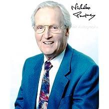 NICHOLAS PARSONS - UK TV Legend Genuine Autograph