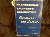 img - for Professional engineer's examination questions and answers book / textbook / text book