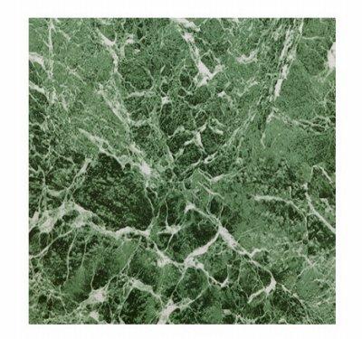 Max Co KD0108 12.25 x 1.5 in. Green Marble Peel & Stick Vinyl Floor Tile - 30 Piece