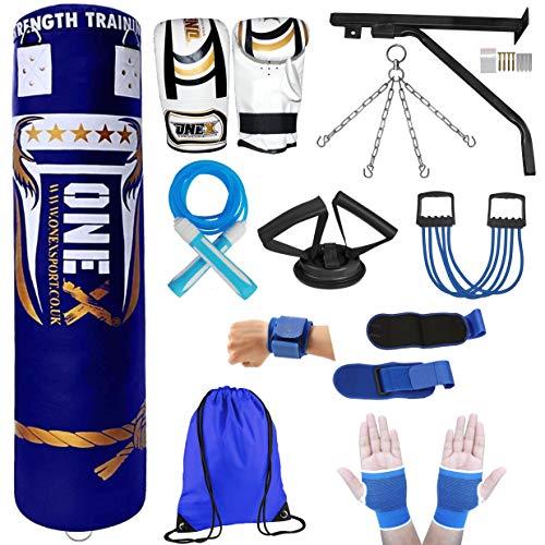 3//4//5 Ft OneX Heavy Filled Punch Bag Duty Custom Build Training Set Martial Arts