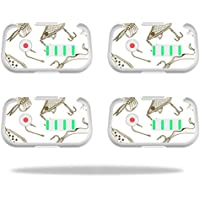 Skin For DJI Phantom 3 Drone Battery (4 pack) – Retro Lures   MightySkins Protective, Durable, and Unique Vinyl Decal wrap cover   Easy To Apply, Remove, and Change Styles   Made in the USA
