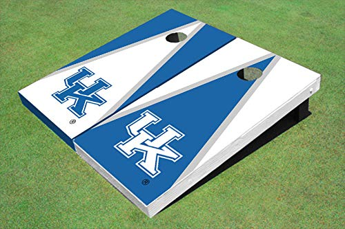 Skip's Garage Kentucky Wildcats Alternating Triangle 2x4 Cornhole Boards (24